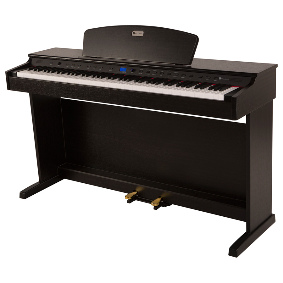 williams rhapsody 2 digital piano console williams digital pianos