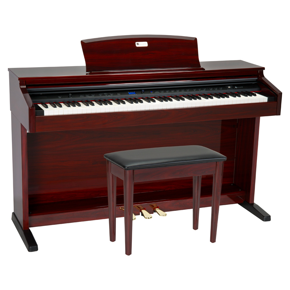 Williams Overture 2 Red Mahogany Digital Piano