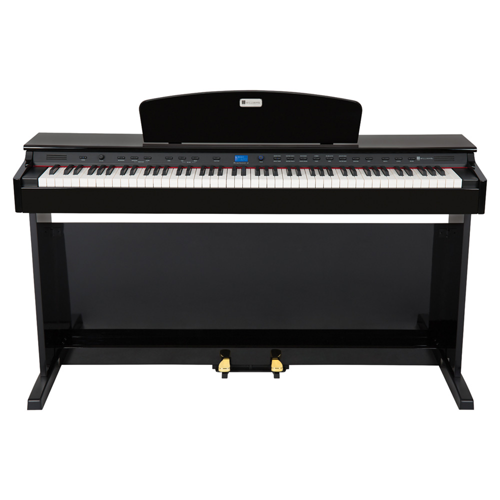 Williams Rhapsody 2 Ebony Digital Piano