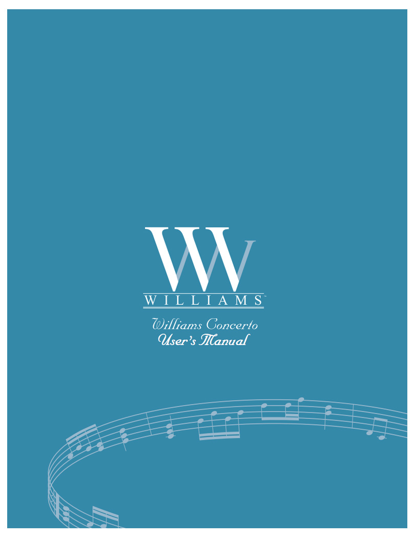 Williams Concerto Manual