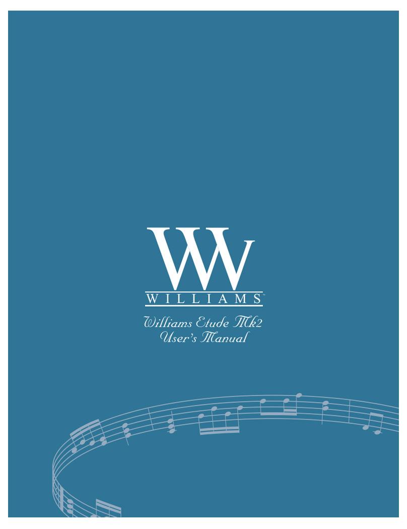 Williams Etude Mk 2 Manual
