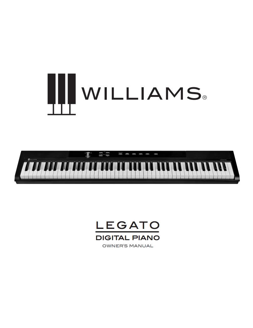 Williams Legato Manual