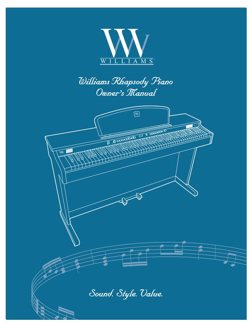 Williams Rhapsody Manual