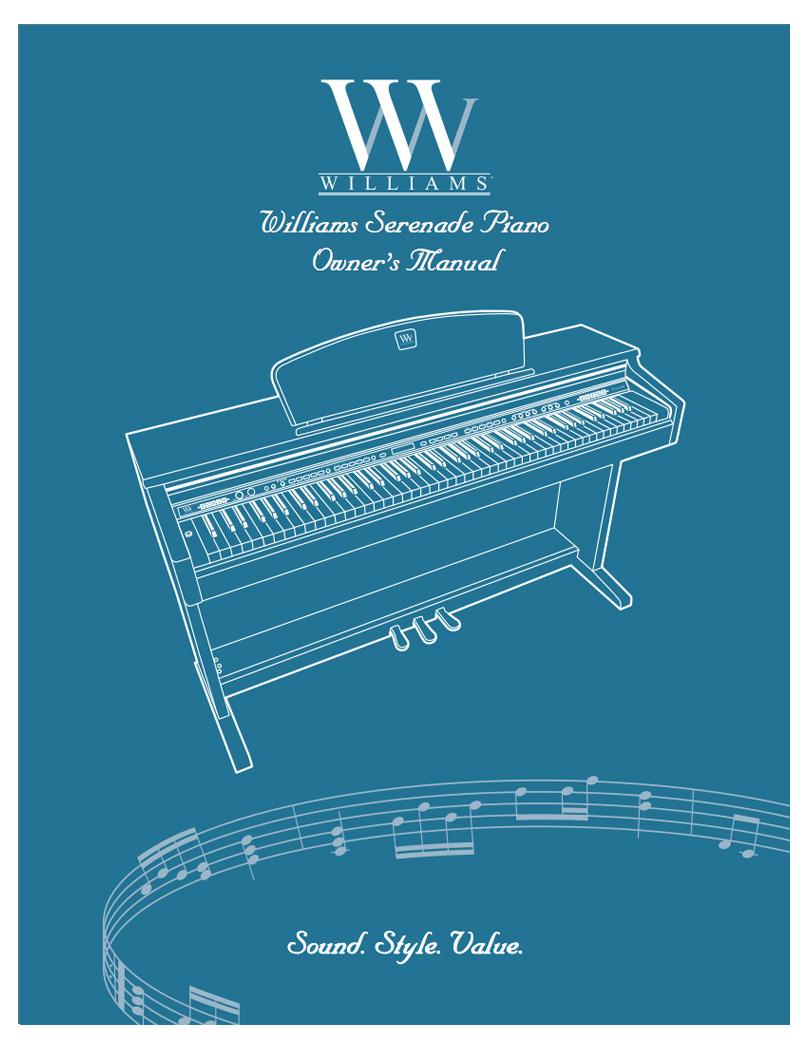 Williams Serenade Manual