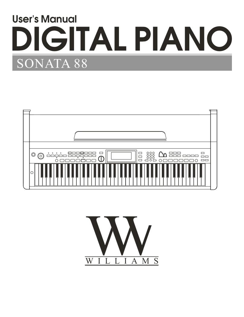 Williams Sonata 88 Manual