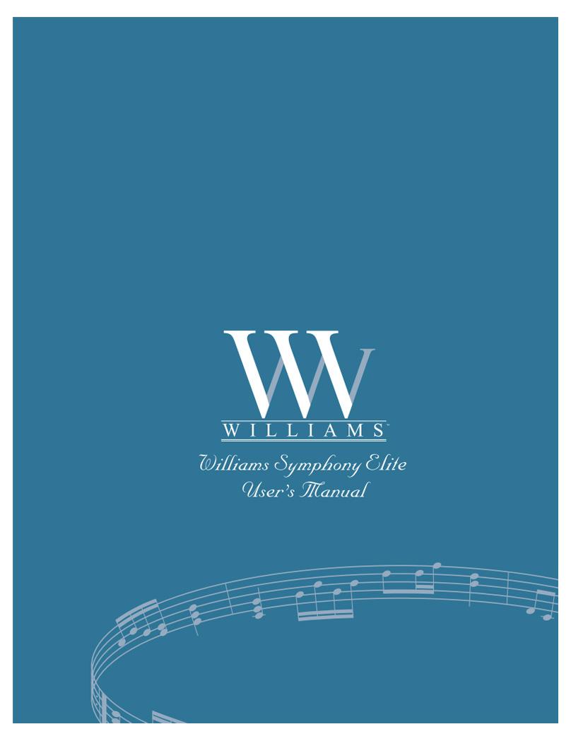 Williams Symphony Elite Manual