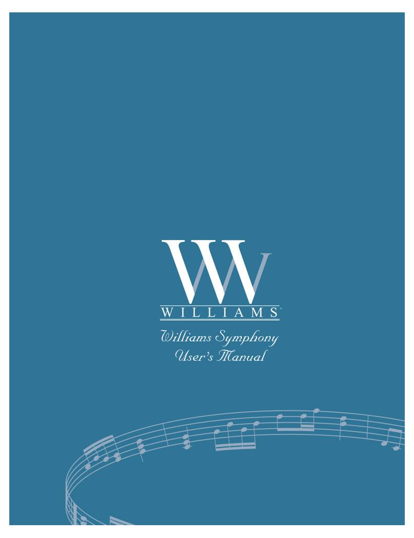 Williams Symphony Manual
