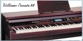 Williams Sonata 88 Digital Piano