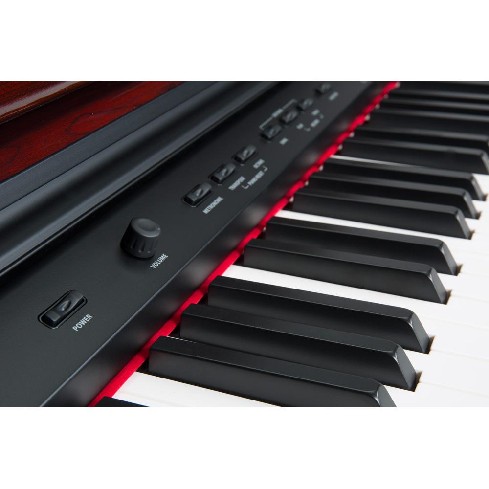 williams overture 2 88 key console digital piano williams digital pianos. Black Bedroom Furniture Sets. Home Design Ideas