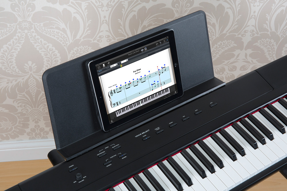 williams legato iii digital piano with ipad williams pianos. Black Bedroom Furniture Sets. Home Design Ideas