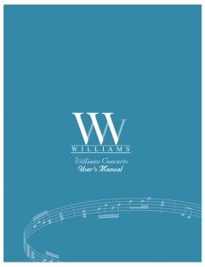 Williams Concerto Manual
