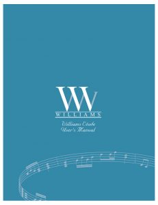 Williams Etude Manual