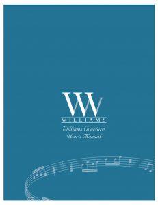 Williams Overture Manual