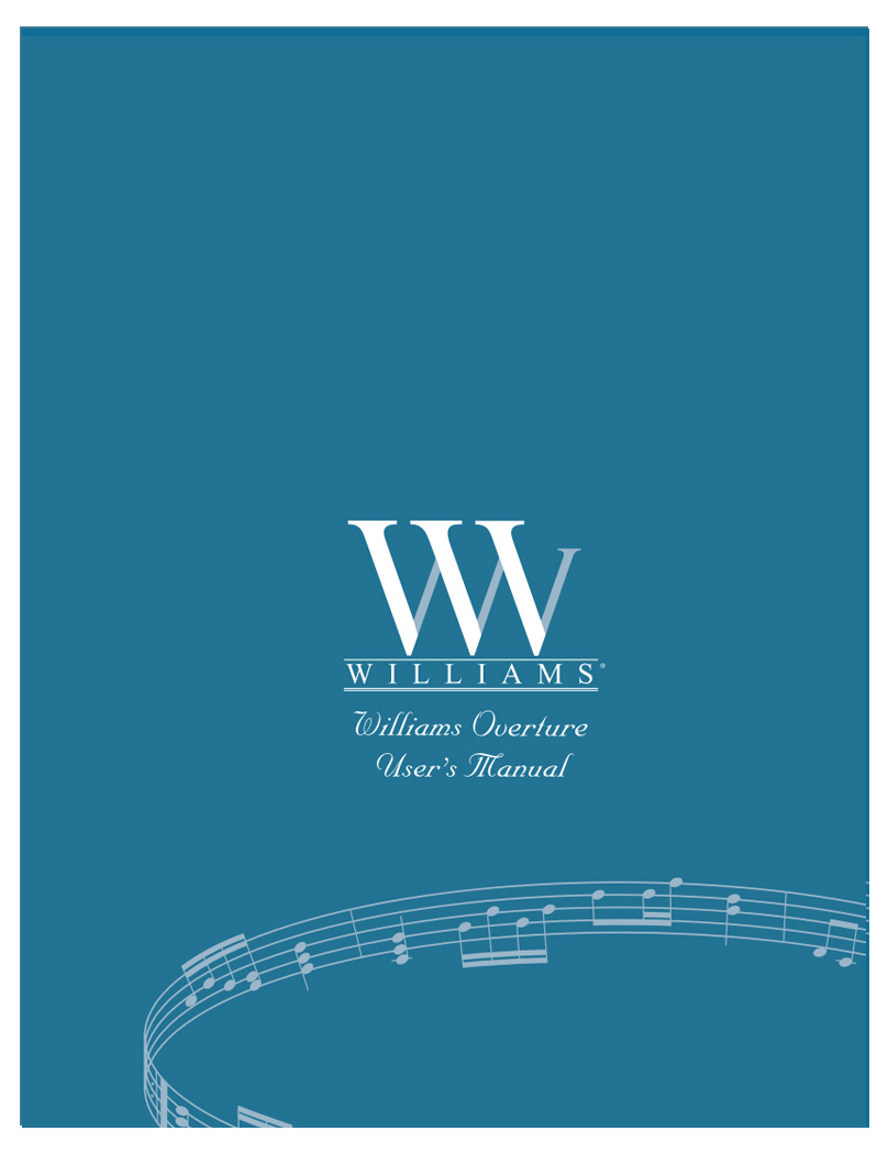 Williams Overture Manual