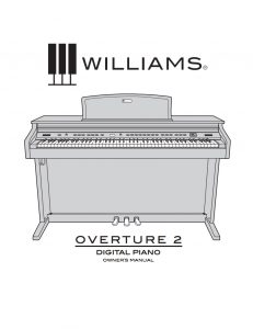 Williams Overture 2 Manual
