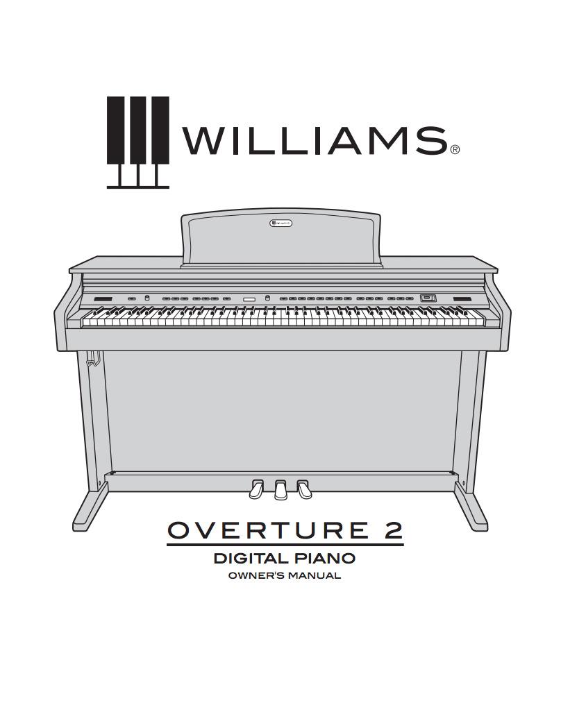 Williams Overture 2 Manual