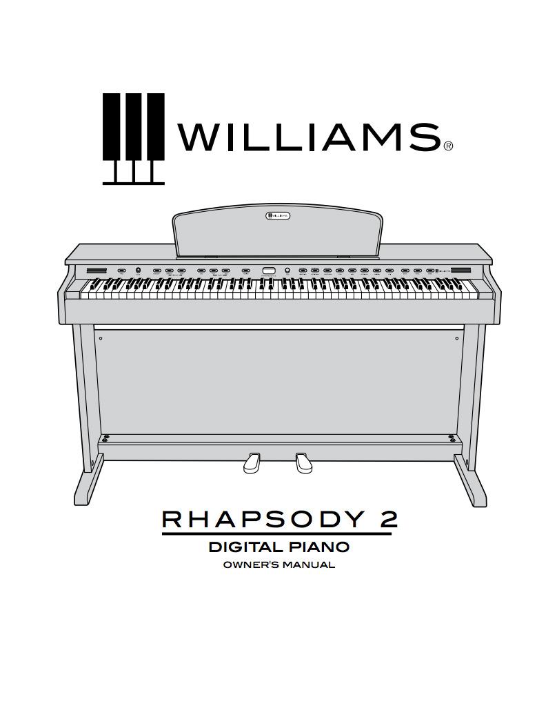 Williams Rhapsody 2 Manual