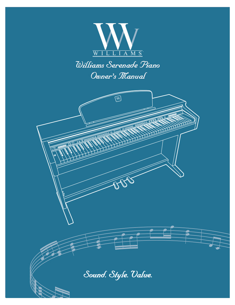 Williams Serenade Manual