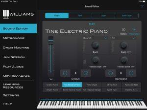 Williams App Sound Editor Parameters