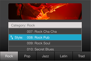 Symphony Grand II Style Rock Pub Rock