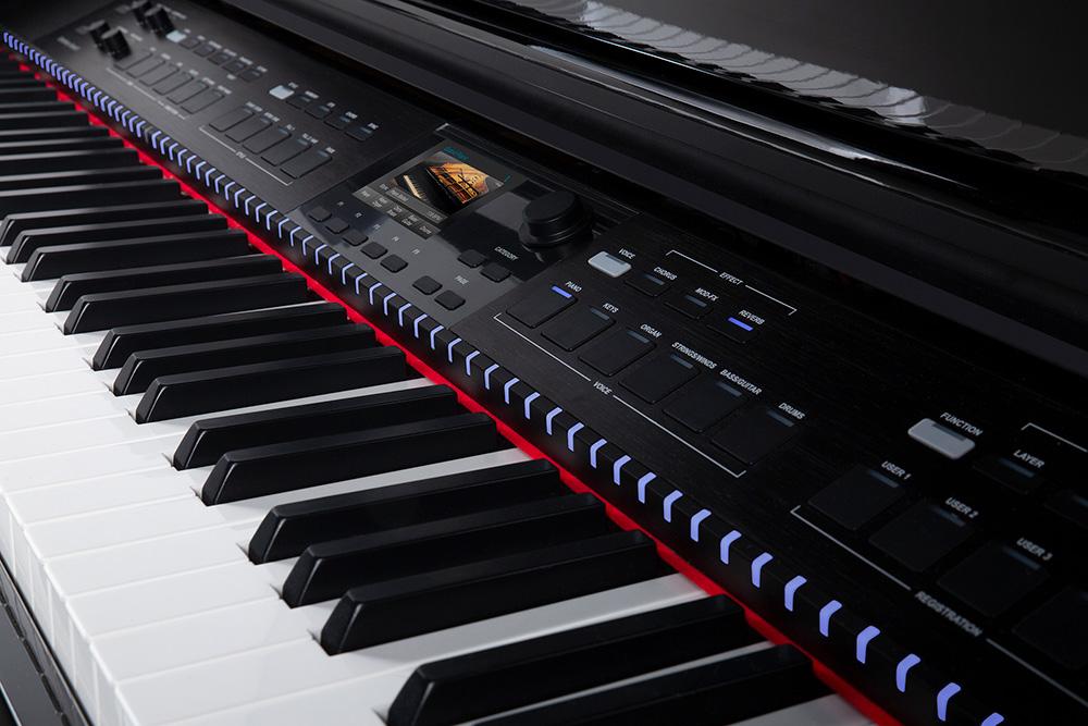 Williams Symphony Grand II Keys Close Up