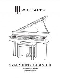 Williams Symphony Grand II Manual