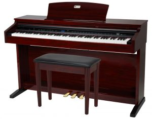 Williams Overture 2 Red Mahogany Digital Piano
