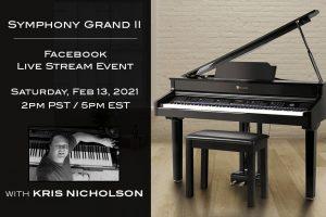 Williams Symphony Grand II Facebook Live Stream Event 021321