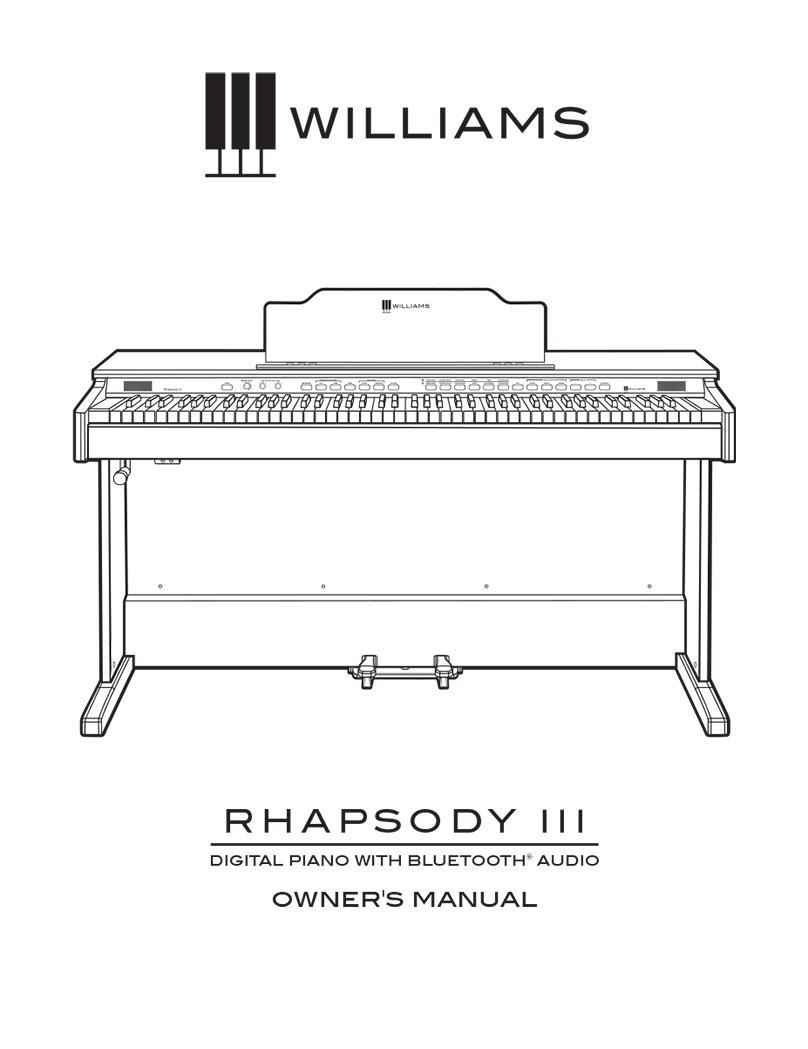 Williams Rhapsody III Manual