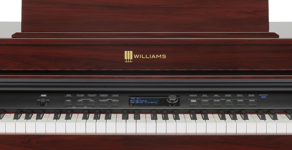 Williams Overture III Red Mahogany